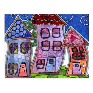 Carte Postale Chambres colorées géniales