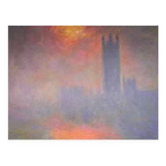 Carte Postale Chambres de Claude Monet Londres du Parlement R-U
