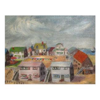 Carte Postale Chambres de plage