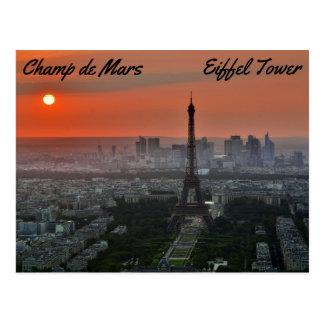 Carte Postale Champ de Mars, Tour Eiffel