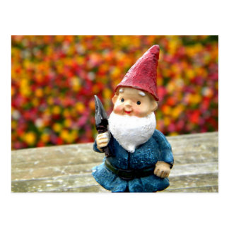 Carte Postale Champ II de gnome