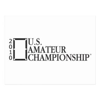 Carte Postale Championnat d'amateur des 2010 États-Unis