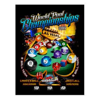 Carte Postale Championnats 2017 de piscine du monde d'APA