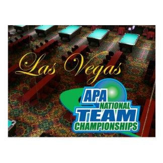 Carte Postale Championnats d'équipe nationale d'APA