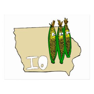Carte Postale Champs de maïs de l'Iowa