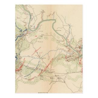 Carte Postale Chancellorsville, église de Salem, Fredericksburg
