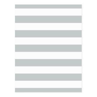Carte Postale Changez les rayures grises en n'importe quelle