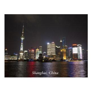 Carte Postale Changhaï Pudong, Chine
