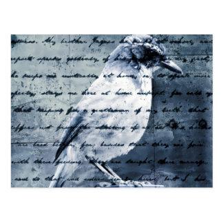 Carte Postale Chanson bleue d'oiseau