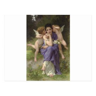 Carte Postale Chansons de ressort par William-Adolphe Bouguereau
