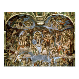 Carte Postale Chapelle de Sistine : Le dernier jugement, 1538-41