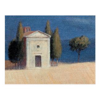 Carte Postale Chapelle près de Pienza II 2012