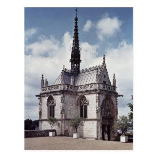 Carte Postale Chapelle Saint-Hubert du château Amboise
