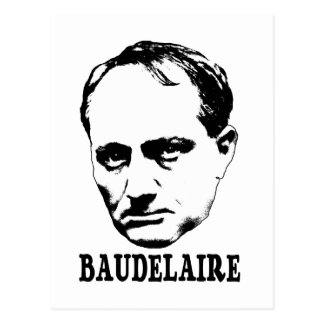 Carte Postale Charles Baudelaire