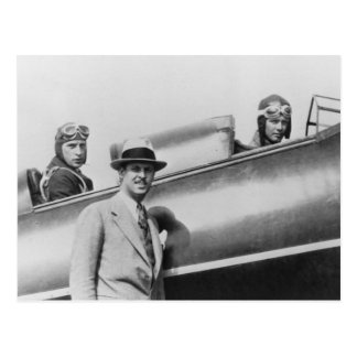 Carte Postale Charles Lindbergh et Fred Weick