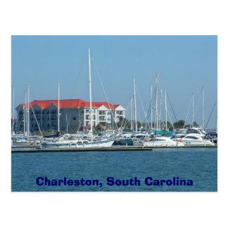 Carte Postale Charleston, la Caroline du Sud