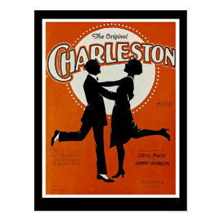 Carte Postale Charleston original