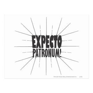 Carte Postale Charme | Expecto Patronum de Harry Potter !