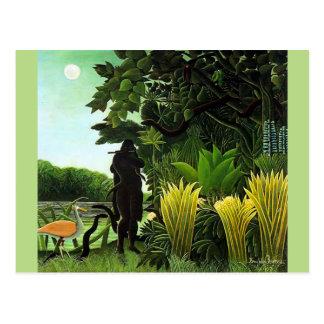 Carte Postale Charmeur de serpent de Rousseau