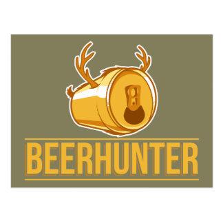 Carte Postale Chasse de Beer&, le Beerhunter