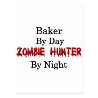 Carte Postale Chasseur de Baker/zombi