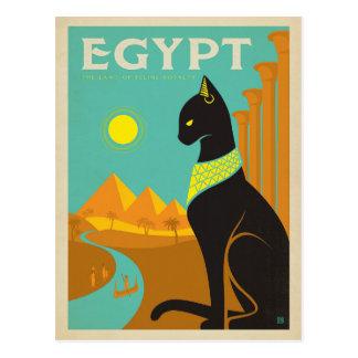 Carte Postale Chat de l'Egypte