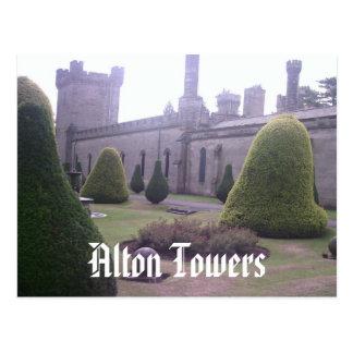 Carte Postale Château aux tours d'Alton
