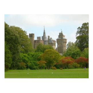Carte Postale Château de Cardiff