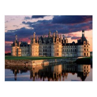 Carte Postale château de chateau de chambord, le Val de Loire,