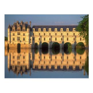 Carte Postale Château de Chenonceau, rivière Cher, Loir-et-Cher,