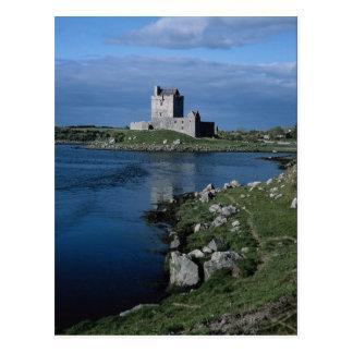 Carte Postale Château de Dunguire, près de Galway, l'Irlande