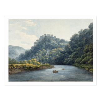 Carte Postale Château de Goodrich sur le montage en étoile (la