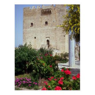 Carte Postale Château de Kolossi, près de Limassol, la Chypre