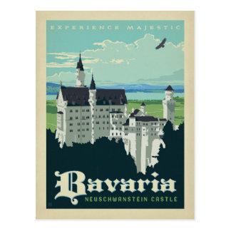 Carte Postale Château de la Bavière | Neuschwanstein