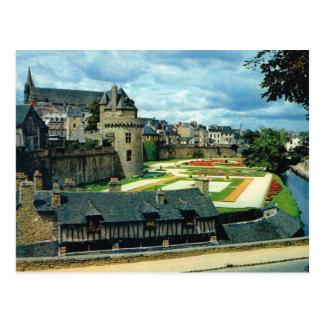 Carte Postale Château de la Bretagne, Vannes,