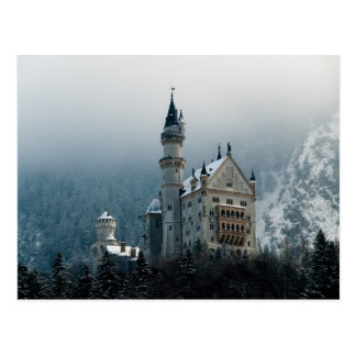 Carte Postale Château de l'Allemagne Neuschwanstein