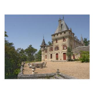 Carte Postale Chateau de magnifique Pressac et jardin