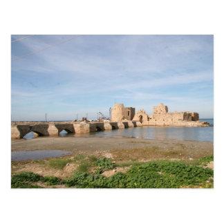 Carte Postale Château de mer de Saida