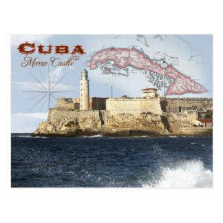 Carte Postale Château de Morro (forteresse), La Havane, Cuba