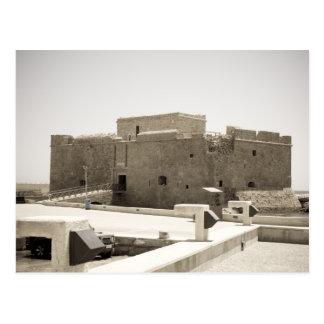 Carte Postale château de paphos