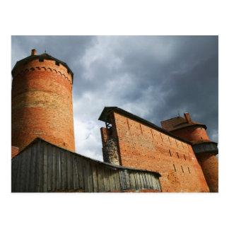 Carte Postale Château de Turaida, Sigulda, Lettonie