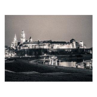 Carte Postale Château de Wawel