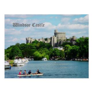 Carte Postale Château de Windsor de la Tamise