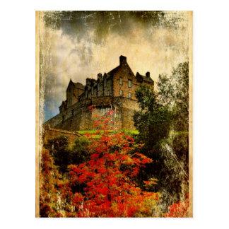 Carte Postale Château d'Edimbourg