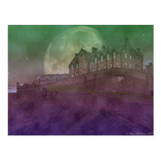 Carte Postale Château d'Edimbourg la nuit