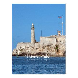 Carte Postale Château d'EL Morro, Cuba