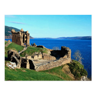 Carte Postale Château d'Urquhart, Loch Ness, Ecosse