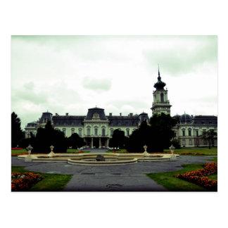 Carte Postale Château Keszthely, Hongrie