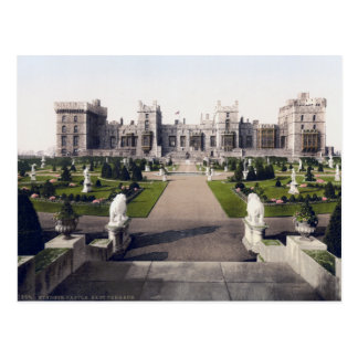 Carte Postale Château royal de l'Angleterre vintage, Windsor