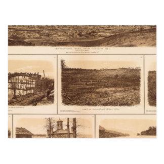 Carte Postale Chattanooga la rivière Tennessee